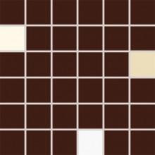 RAKO CONCEPT PLUS mozaika 5x5cm hnědá WDM05009