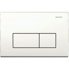 GEBERIT KAPPA 50 ovládací tlačítko 21,1x1,5x14,2cm, alpská bílá