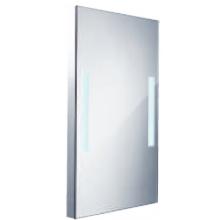 Nábytek zrcadlo Nimco s integrovaným LED osvětlením 50x80 cm hlíník
