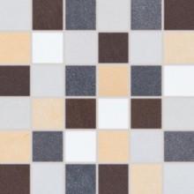 Dlažba Rako Sandstone Plus mozaika 29,5x29,5(4,7x4,7)cm mix barev