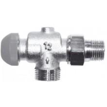 """HERZ TS-98-VHF termostatický ventil M30x1,5, 1/2"""" axiální, s plynulým přednastavením a číselnou stupnicí"""