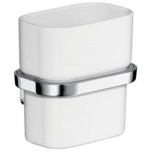 AXOR URQUIOLA sklenička na ústní hygienu 100mm, chrom/sklo 42434000