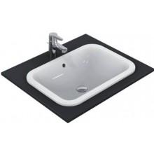 IDEAL STANDARD CONNECT umyvadlo 420x350mm zápustné, bez otvoru s přepadem bílá E505501