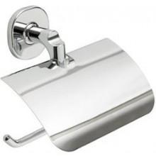 INDA ELLEPI držák toaletního papíru 15x6x14cm s krytem, nástěnný, chrom