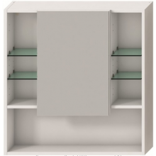JIKA LYRA zrcadlová skříňka 775x132x800mm, bílá 4.5325.1.038.304.1