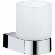 KEUCO EDITION 300 držák na skleničku 98x113mm, včetně sklenky, chrom/sklo