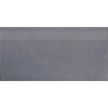 RAKO CLAY schodovka 30x60cm, černá