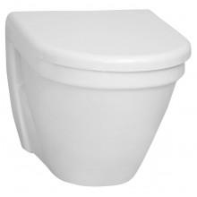 CONCEPT S50 závěsné WC 355x520mm vodorovný odpad, mělké splachování bílá 5319L003-0075