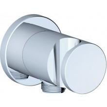RAVAK 706.00 držák sprchy 42x70mm s vývodem vody, chrom X07P206