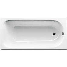 KALDEWEI SANIFORM PLUS 363-1 vana 1700x700x410mm, ocelová, obdélníková, bílá, celoplošný Antislip 111834010001