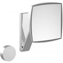 KEUCO ILOOKMOVE zrcadlo 200x200mm, kosmetické, s LED osvětlením, chrom