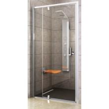 RAVAK PIVOT PDOP2-120 sprchové dveře 1161-1211x1900mm dvojdílné, otočné, bright alu/transparent 03GG0C00Z1