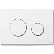 TECE LOOP ovládací tlačítko 216x145mm, dvoumnožstevní splachování, bílá