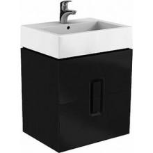 KOLO TWINS skříňka pod umyvadlo 60x57x46cm, závěsná, matná černá 89494000