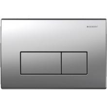 GEBERIT KAPPA 50 ovládací tlačítko 22,1x1,5x14,2cm, pochromovaná matná