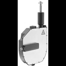 HANSA ROLLBOX vestavné těleso 280x447mm pro montáž na okraj vany, chrom