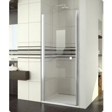Zástěna sprchová dveře Ronal Swing-Line SL1 0700 50 22 700x1950 mm aluchrom/Durlux