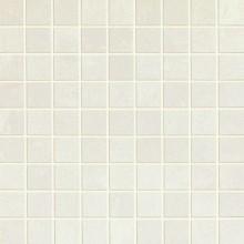 MARAZZI SISTEMN mozaika 30x30cm lepená na síťce, bianco puro, MHQY