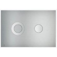 CONCEPT 200 ovládací tlačítko pro předstěnové instalační systémy nerez-mat/lesk