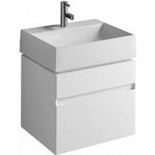 KOLO QUATTRO skříňka pod umyvadlo 59x49,4x47,3cm závěsná, bílá lesklá