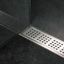 Rošt Classicline nerezový, kartáčovaný povrch, je umístěn na sníženém lůžku uvnitř rámečku, aby se zajistilo přesné osazení, jsou určeny k použití pouze v kombinaci s rámečky, lze použít s rámečkem ClassicLine. Můžete volit z pěti designových typů pro pod