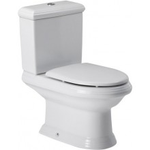 ROCA AMERICA WC mísa kombi 395x775mm hluboké splachování, vario odpad, bílá 7342497000