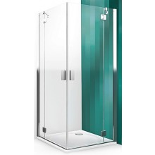 ROLTECHNIK HITECH LINE HBO1/800 sprchové dveře 800x2000mm jednokřídlé, bezrámové, brillant premium/transparent