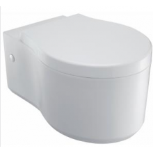 WC závěsné Kohler odpad vodorovný Formilia Viragio se soft close sedátkem 54x36 cm White
