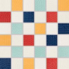 RAKO TRINITY mozaika 30x30cm, lepená na síťce, mix