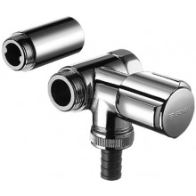 SCHELL COMFORT připojovací ventil DN15, vedlejší, chrom