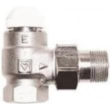 """HERZ TS-E termostatický ventil 1/2"""" plnoprůtočný, rohový, pro jednotrubkové a samotížné soustavy"""