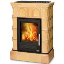 ABX BRITANIA K kachlová kamna 5,2-12,4kW s teplovodním výměníkem, tabak