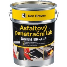 DEN BRAVEN DENBIT BR-ALP penetrační lak 19kg, asfaltový, elastický, černá