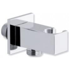CONCEPT 300 výpusť vody 71,5mm, čtvercová, s držákem na sprchu, kov, chrom
