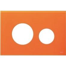 TECE LOOP kryt 220x150mm, pro kombinaci s tlačítkovou deskou, sklo/oranžová