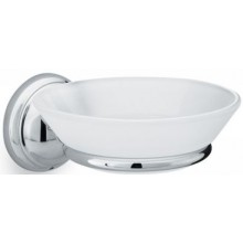 AXOR CARLTON miska na mýdlo Ø125mm, chrom/sklo 41433000