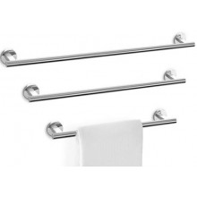 ZACK SCALA tyč na ručníky 51x8x6cm, nerez ocel/vysoký lesk