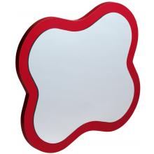LAUFEN FLORAKIDS zrcadlo 435x383x19mm ve tvaru květiny červená 4.6160.1.003.469.1