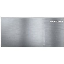 GEBERIT OMEGA 70 oddálené ovládání 11,2x5cm, nerezová ocel kartáčovaná 115.084.FW.1