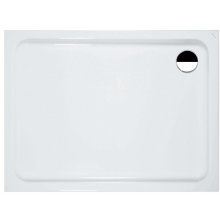 LAUFEN SOLUTIONS sprchová vanička 900x750mm obdélníková, akryl, bílá
