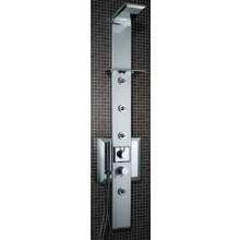 SANJET PRISMA 140 PÁKA sprchový panel 24x154,5cm hydromasážní, páková baterie, chrom