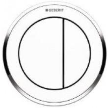 GEBERIT TYP 01 oddálené ovládání 9,5cm, pneumatické, podomítkové, vystouplé, alpská bílá