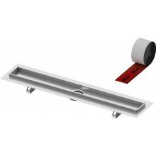 CONCEPT 200 sprchový žlab 800mm, rovný, s těsněním Seal System, nerezová ocel