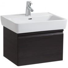 Nábytek skříňka pod umyvadlo Laufen Laufen Pro s 1 zásuvkou a sifonem 57x39x45 cm wenge