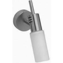 AXOR STEEL nástěnné svítidlo 214mm, nerezová ocel/sklo 41256800