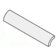 VILLEROY & BOCH PRO ARCHITECTURA dlažba 2,75x20cm, zaoblená listela, white