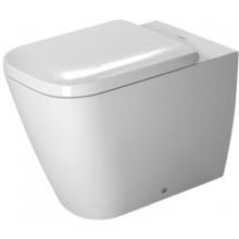 WC stacionární Duravit odpad vodorovný Happy D.2 ke stěně 365x 570 mm bílá+WonderGliss