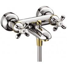 Baterie vanová Hansgrohe nástěnná kohoutková Axor Carlton - chrom/zlato