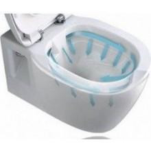 WC závěsné Ideal Standard odpad vodorovný Connect Rimless, hluboké splachování 36x54x34cm bílá