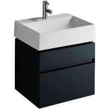 KOLO QUATTRO skříňka pod umyvadlo 59x49,4x47,3cm, závěsná, antracit 89356000